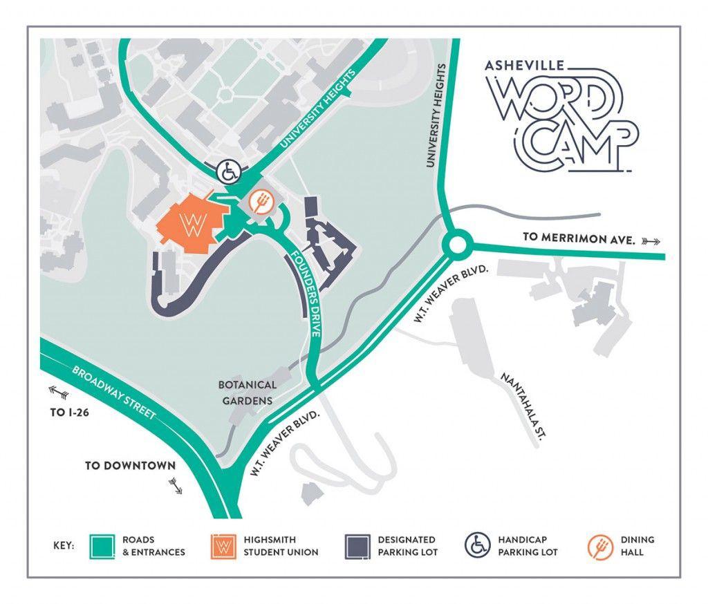 WordCamp Campus Map